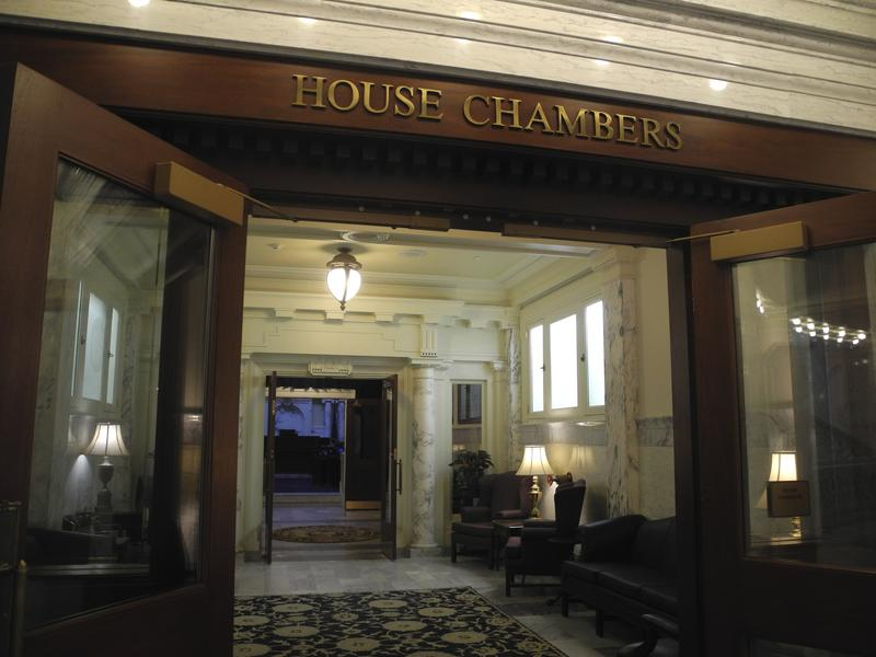 Ada County Statehouse Capitol Building House Chambers Entrance
