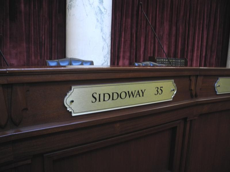 Ada County Statehouse Capitol Building Senate Chambers Siddoway