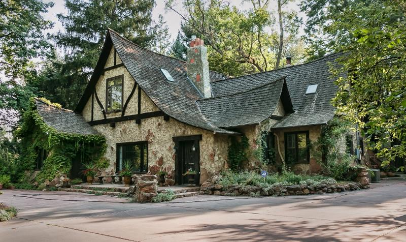 The Crandall house looks like it came straight out of a fairy tale.