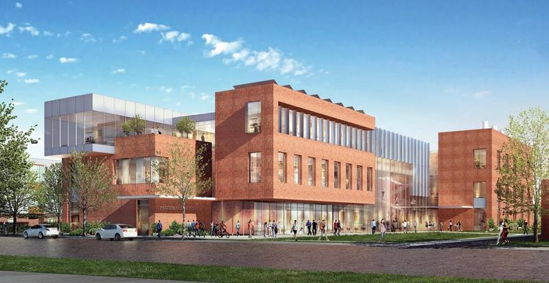 A rendering of Boise State's new Center for Materials Research building, half of which will be funded by Micron's gift.