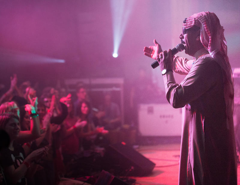 Syrian singer Omar Souleyman performed at Treefort 2015. This year, more international bands are playing the festival than ever before.