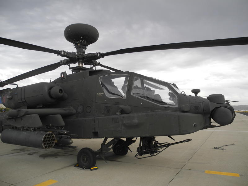 About 400 Idaho National Guard members work with Apache helicopters at Gowen Field. Most of them will now work with Black Hawks.