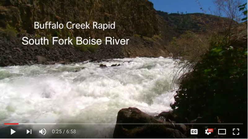 Boise National Forest officials are sharing a video about new hazards on the South Fork of the Boise River.