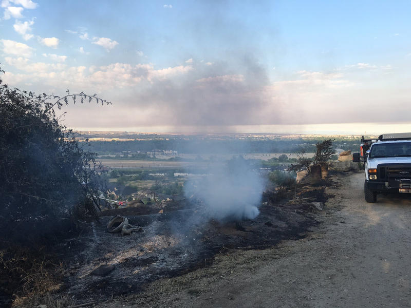 Some of the aftermath of the Table Rock Fire.