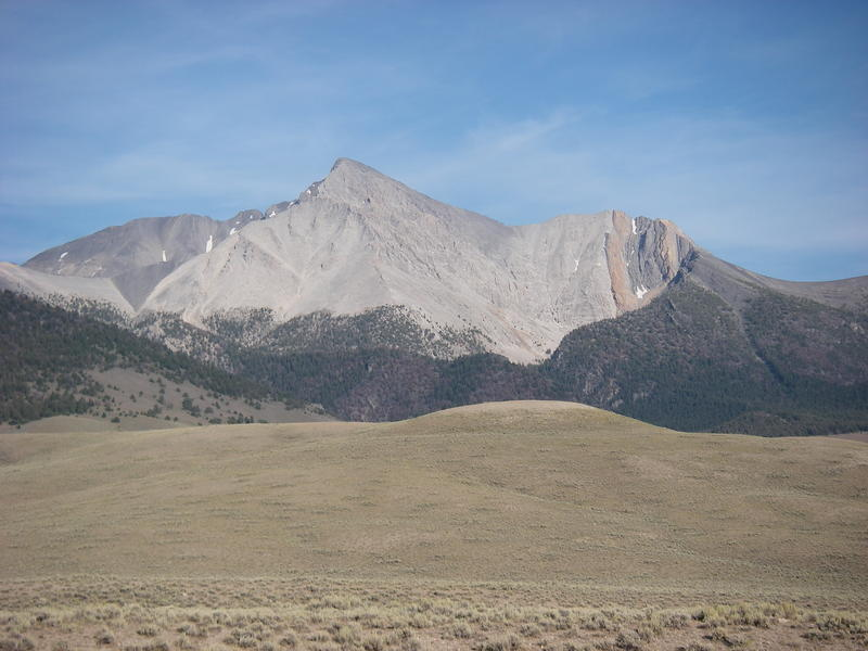 Mt. Borah, Idaho's tallest mountain.