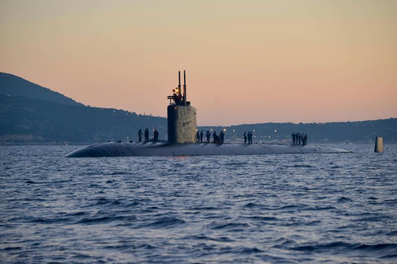 The USS Boise.
