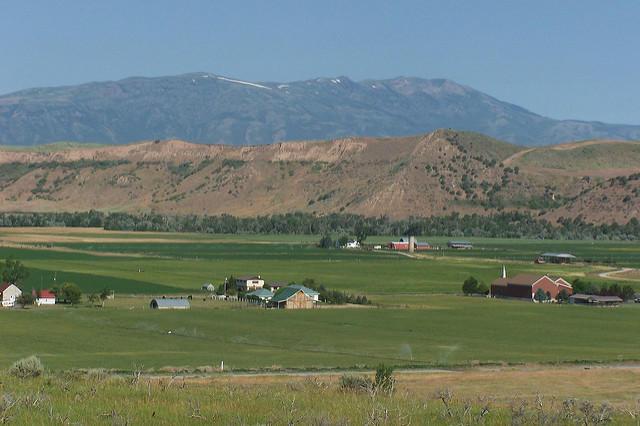 Farmland in Franklin County.