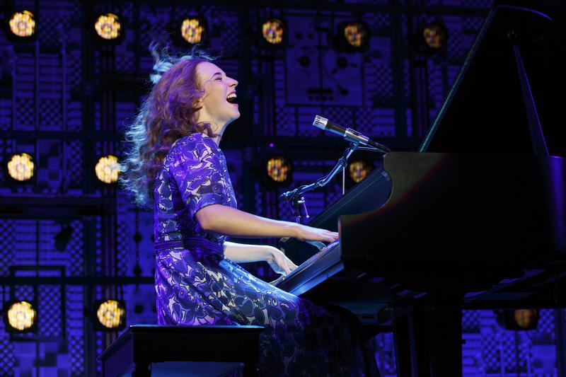 Julia Knitel plays Carole King at Carnegie Hall.
