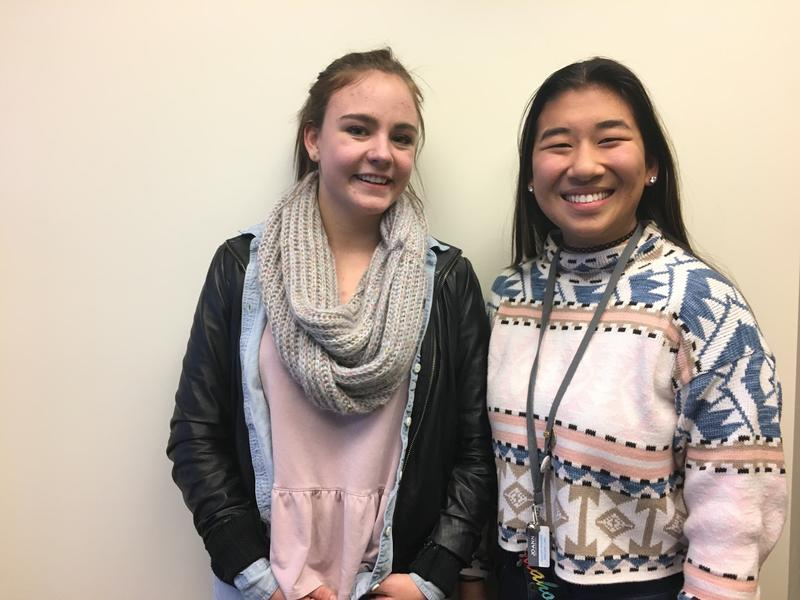 Bora High School senior Nora Herron (left) and  Capitol High School junior Colette Raptosh (right) are  the organizers of the Women's March on Idaho set for Saturday, January 21.