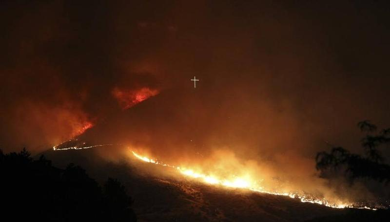 The Table Rock Fire started unintentionally with illegal fireworks on June 30, 2016.