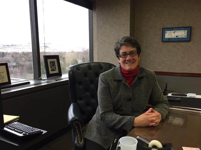 Wendy Olson's last day in office is Saturday, February 25.