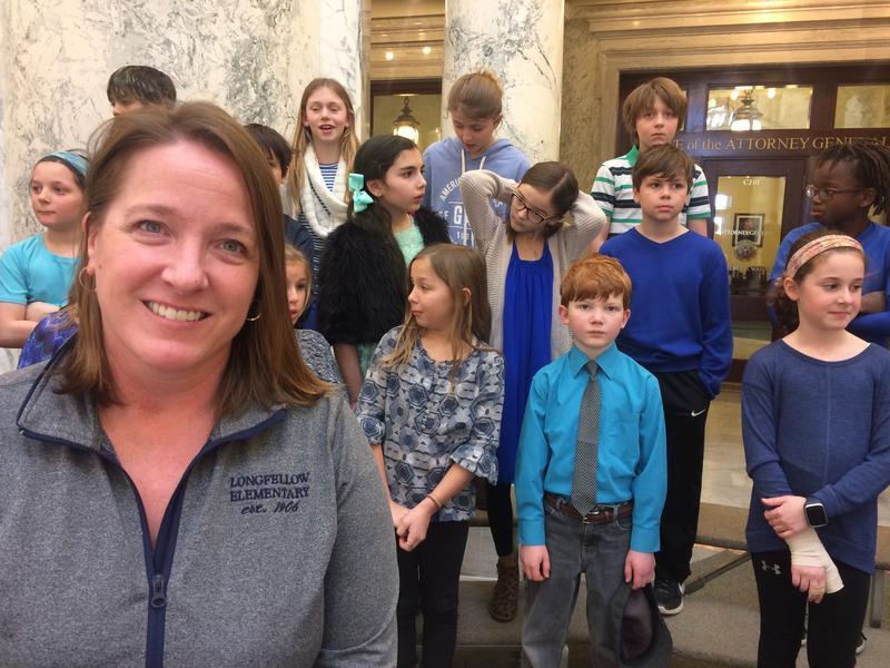 Kids Choir Students School
