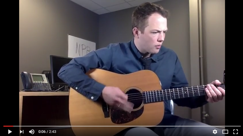 Idaho Falls-based musician Danny Heslop performs 'This Love May' for the NPR Tiny Desk Contest.