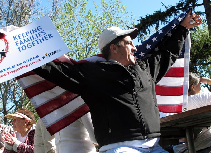 File photo from an immigration rally in downtown Boise May, 2013.