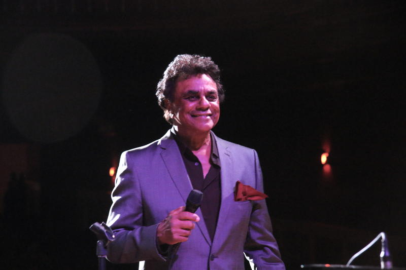 Johnny Mathis still loves performing, 61 years into his professional career.