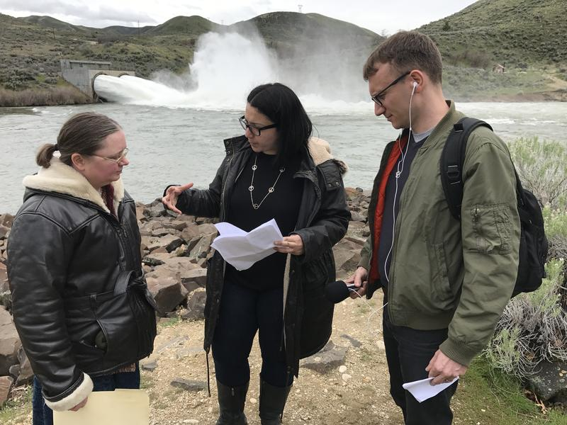 "KBSX's Samantha Wright took ""The Response"" team to Lucky Peak for some sight-seeing and an interview."