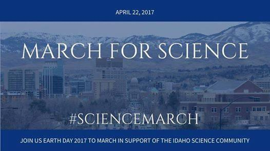 The national March for Science has sister events all across the country this Saturday, including in Boise.