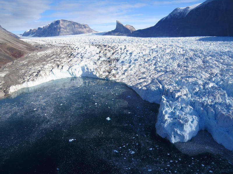 This was just one of 16 glaciers the team studied in Greenland.