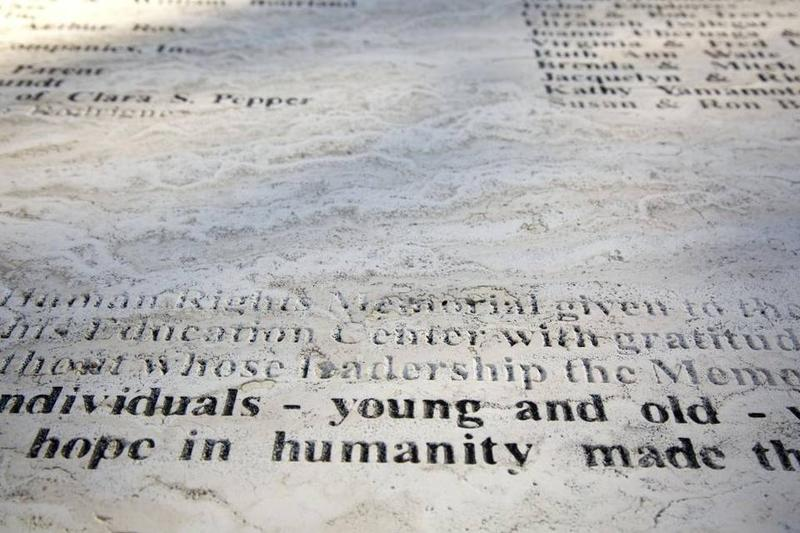 Boise Parks and Recreation removed the racial and anti-Semitic slurs found on the memorial, but the damage is irreparable. The community is raising money to replace the damaged pieces.
