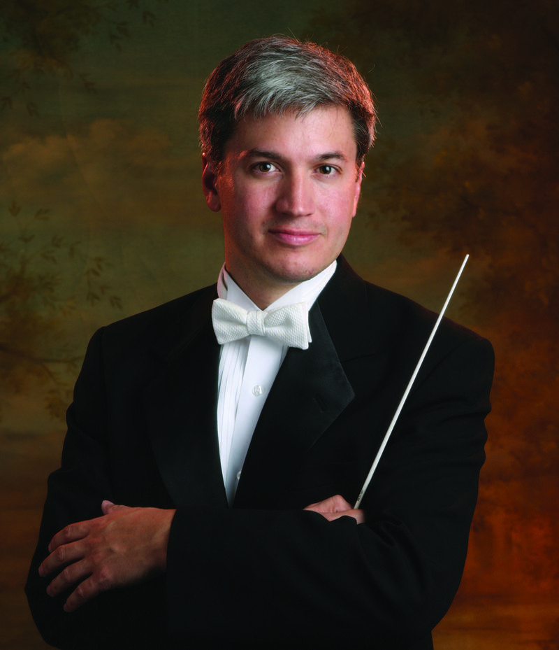 Eric Garcia, Music Director of the Boise Philharmonic, May 2017.