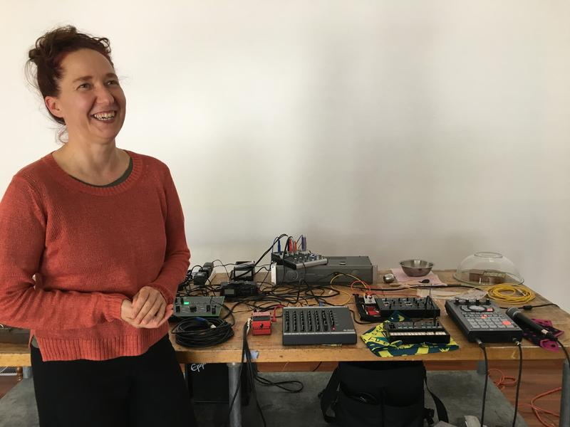 Experimental artist Gretchen Jude will use a mixture of electronic, archival and field recordings during her Friday show.