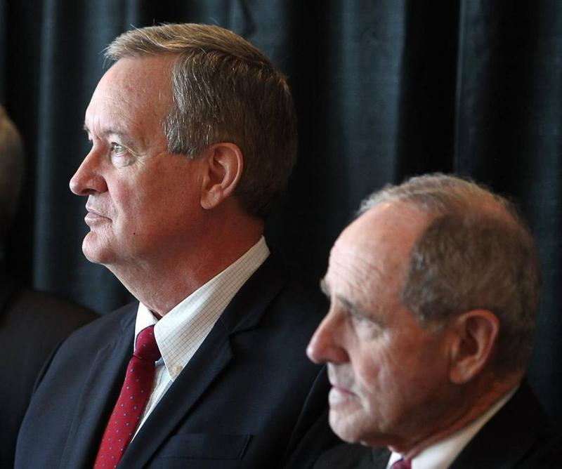 File photo of Senators Mike Crapo and Jim Risch, who both voted along party lines to begin the health care debate in the Senate.