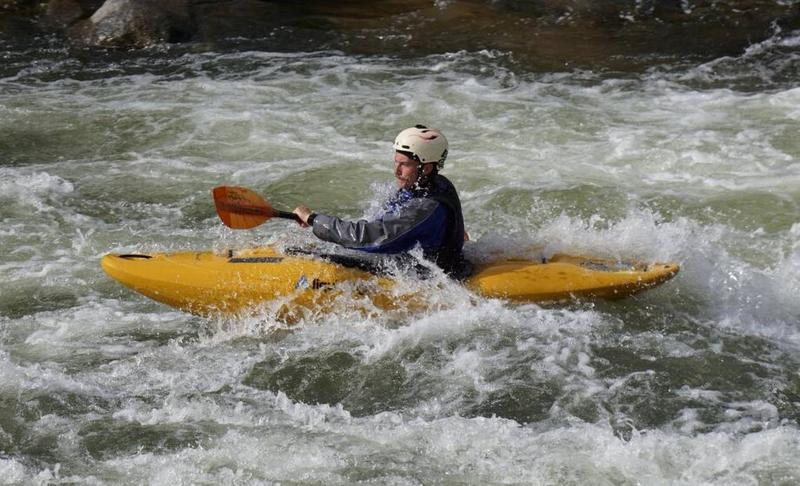 The North Fork of the Payette River is hosting some of the most elite kayakers from around the world this weekend.