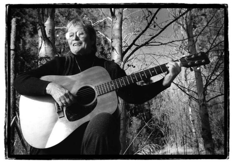 1999 photo of Rosalie at Grimes Creek.