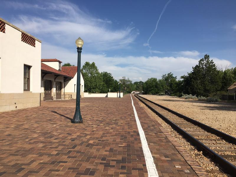The platform behind the Boise Depot hasn't hosted travelers on a passenger train since 1997.