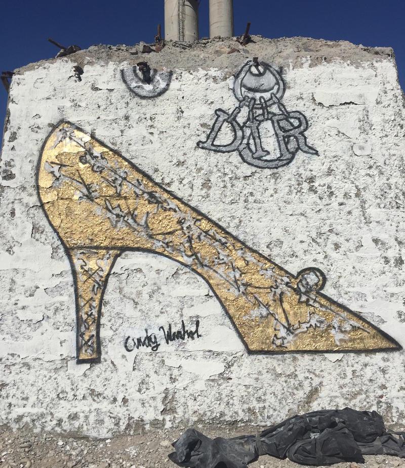 """Limited edition Andy Warhol """"Lady"""" Dior bag."""