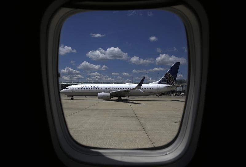 In this June 27, 2017, file photo, a United Airlines jet taxis to a gate at O'Hare International Airport in Chicago.
