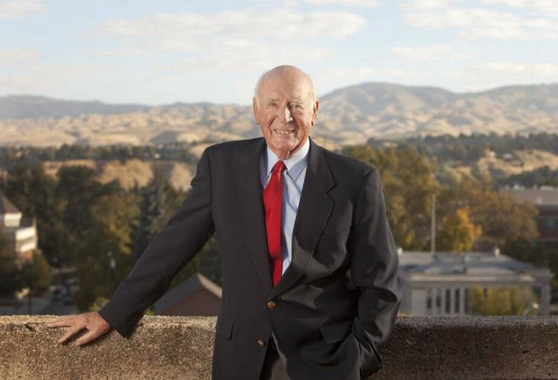 Cecil Andrus, photographed in 2011, served as governor of Idaho from 1971 to 1977 and 1987 to 1995, as well as secretary of the Interior from 1977 to 1981.