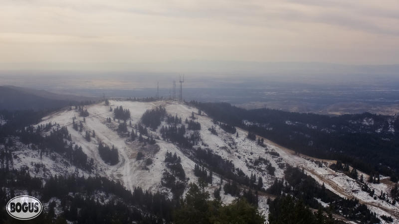 A look from Bogus Basin's Mountain Cam on Tuesday.