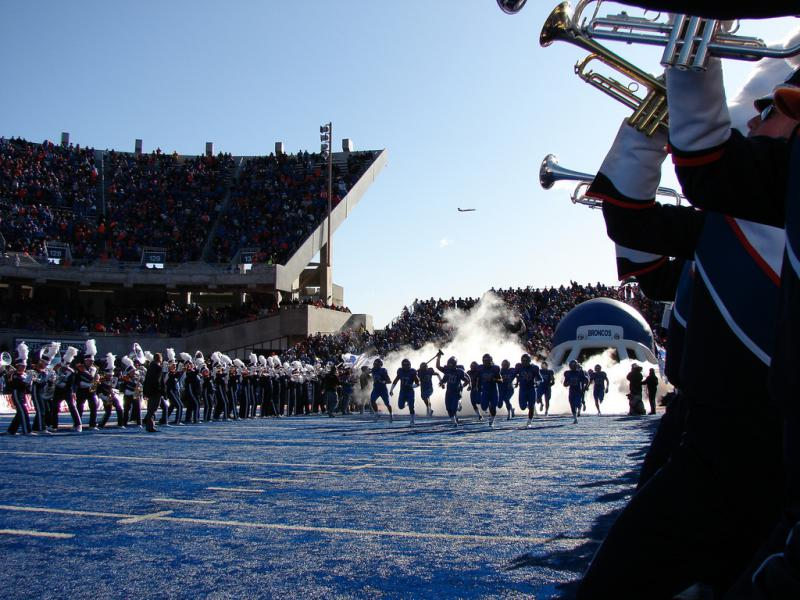 After peaking in 2012, Boise State football season ticketholders, revenue from games and average attendance have consistently declined. Athletic Director Curt Apsey thinks late kickoff times could be a significant factor.