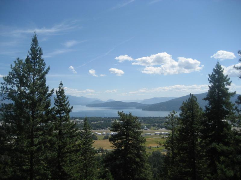 Sandpoint sits on the shores of Lake Pend Oreille. Over the past few years, residents have been dialed up by robocalls attacking journalists, politicians, or promoting the visit of a prominent neo-nazi.