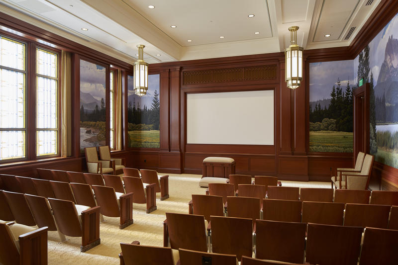 Instruction room, Meridian Temple.