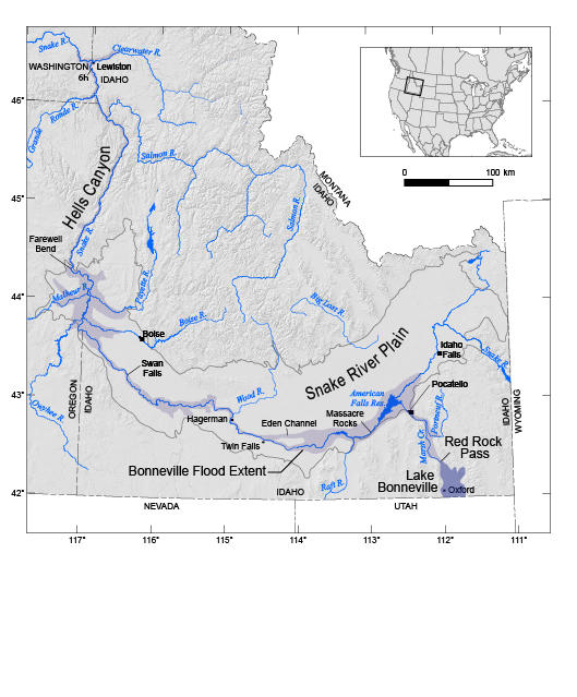 How did the bonneville flood help shape the snake river canyon credit jim oconnor publicscrutiny Choice Image