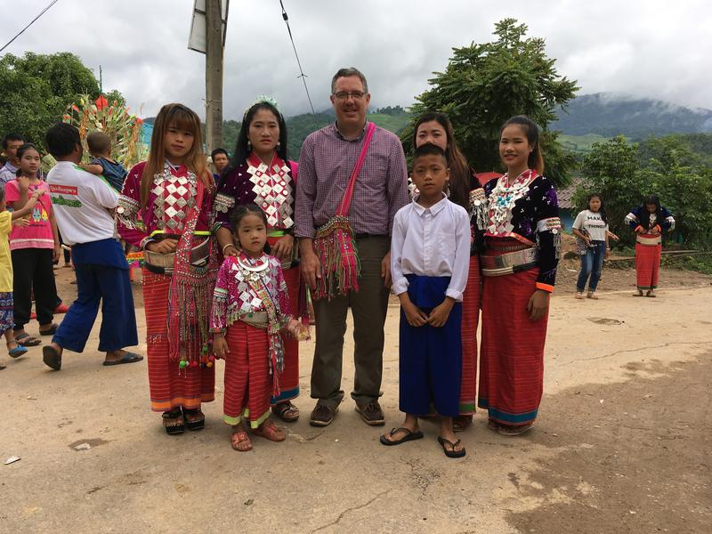 College of Idaho political economy professor Rob Dayley will help lead a group of students to the Myanmar-Thailand border this summer. The group will interview and document the lives of Dara'ang refugees, an ethnic minority in the area.