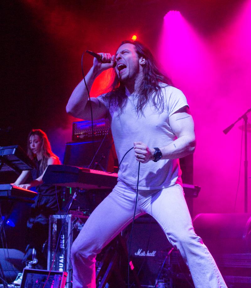 Andrew W.K.'s high-powered performance energizes fans at Treefort Music Fest's main stage Saturday night.