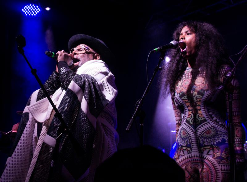George Clinton and Parliament Funkadelic mixed modern rhythms in a bass-blasting set at Treefort's main stage Friday night.