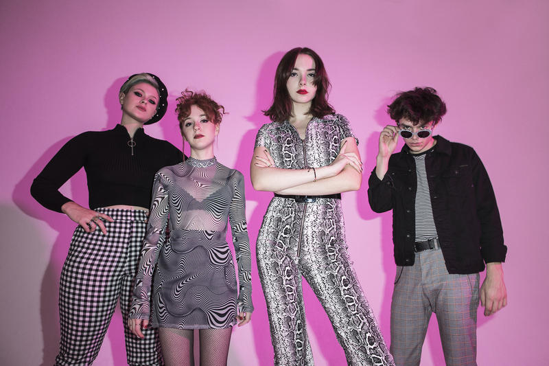 The Regrettes perform Friday night at Treefort Music Fest.