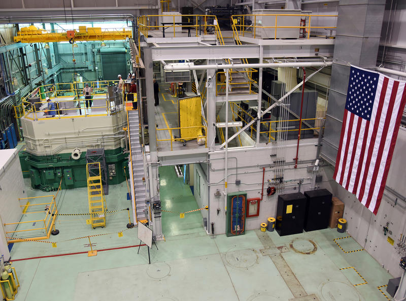This Nov. 14, 2017, file photo, provided by the Idaho National Laboratory shows the Idaho National Laboratory Transient Reactor Test Facility in Idaho Falls, Idaho.