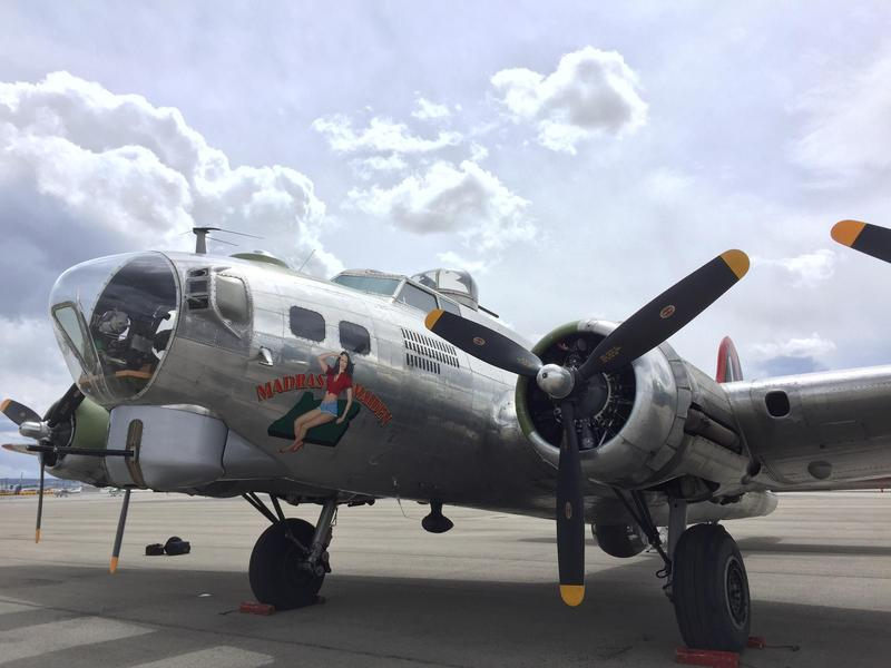"""The B-17 Flying Fortress """"Madras Maiden"""" is in Boise for the first time. Tours of the plane and brief flights over the Treasure Valley will be offered April 21 and April 22."""