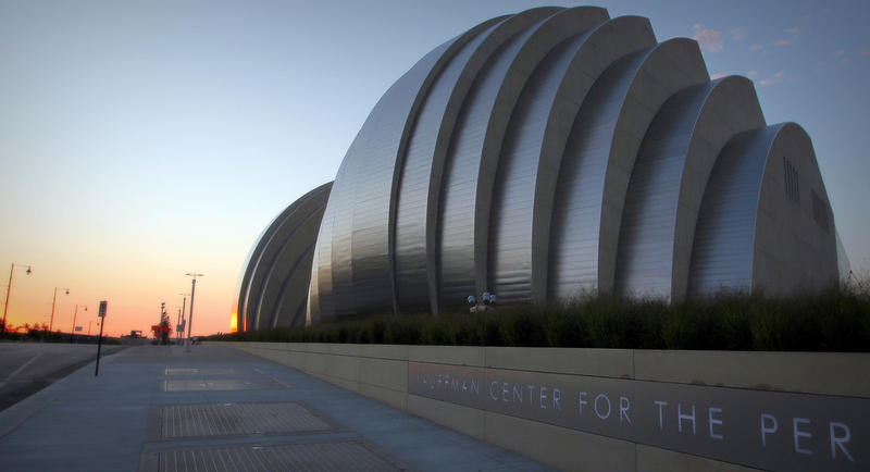 Located in Kansas City, Missouri, Safdie designed the Kauffman Center for the Performing Arts.