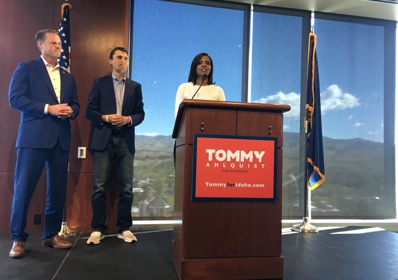 Conservative activist Candace Owens endorses GOP gubernatorial candidate Tommy Ahlquist.