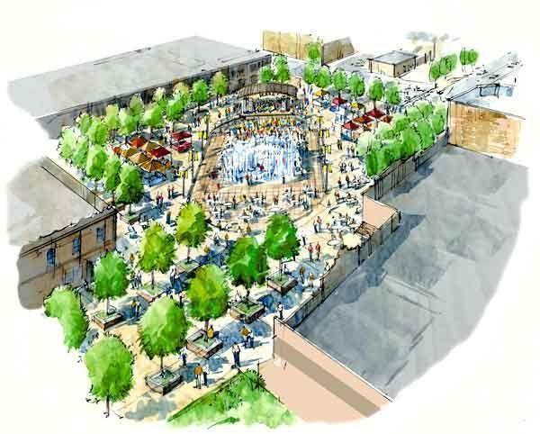 Indian Creek Plaza artist's rendering