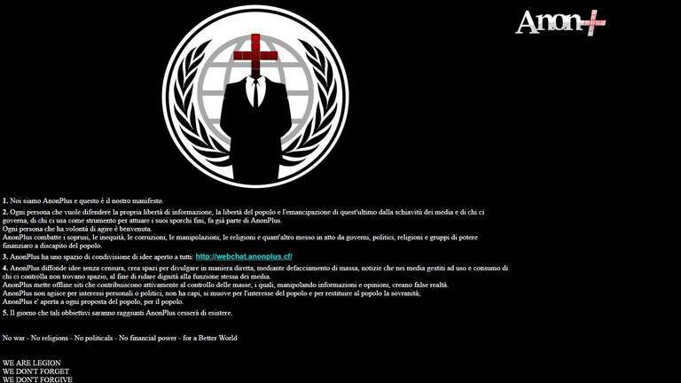 AnonPlus manifesto posted to Idaho legislature's website.