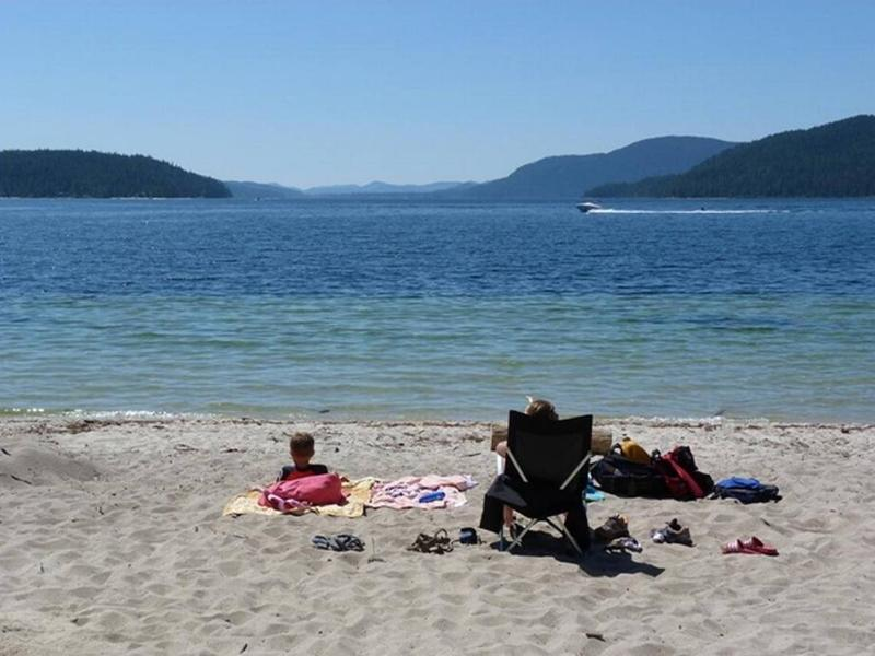 Priest Lake is one of the most sought after camping sites in Idaho.