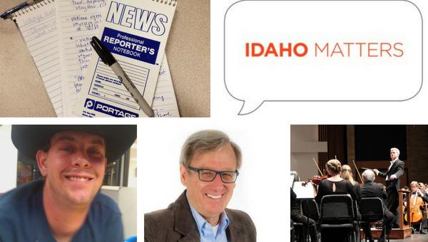 (bottom, l-r) Idaho Republican gubernatorial candidate Dalton Cannady /Idaho Republican gubernatorial candidate Steve Pankey / Boise Philharmonic