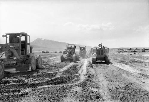 Here's a look at the Oakley Airport Site in Cassia County. Idaho Transportation Department (AR24) AERO_00314_13. Idaho State Archives.